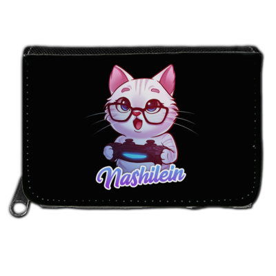 Motiv: Geldboerse - Nashi Logo + Schriftzug