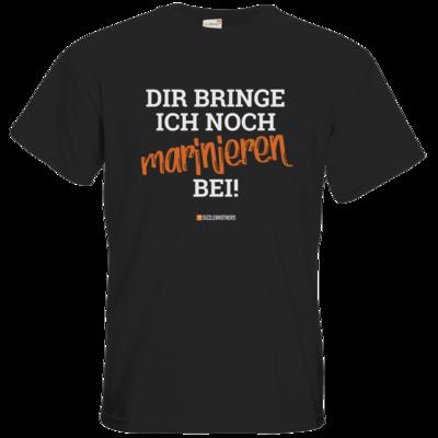 Motiv: T-Shirt Premium FAIR WEAR - Marinieren bei bringen!
