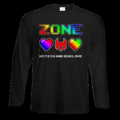 Motiv: Exact 190 Longsleeve FAIR WEAR - HI-TECH and RGB Love