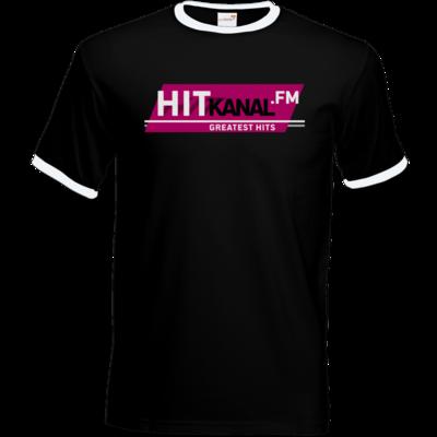 Motiv: T-Shirt Ringer - Hitkanal.FM