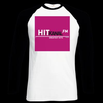 Motiv: Longsleeve Baseball T - Hitkanal.FM