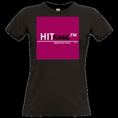 Motiv: T-Shirt Damen Premium FAIR WEAR - Hitkanal.FM