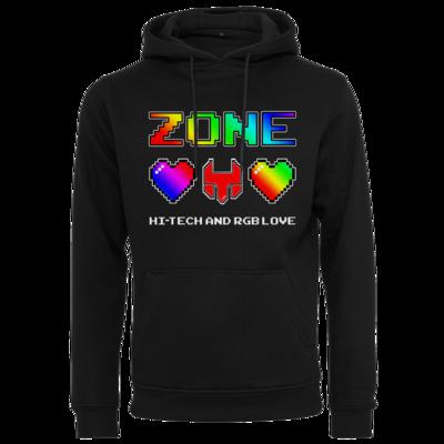 Motiv: Heavy Hoodie - HI-TECH and RGB Love