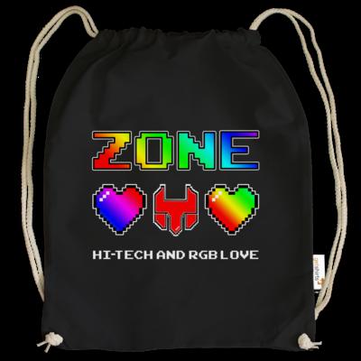 Motiv: Cotton Gymsac - HI-TECH and RGB Love