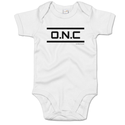 Motiv: Baby Body Organic - ONC Schriftzug