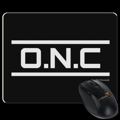 Motiv: Mousepad Textil - ONC Schriftzug