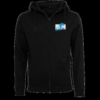 Motiv: Heavy Zip-Hoodie - #TeamTabo - Blau