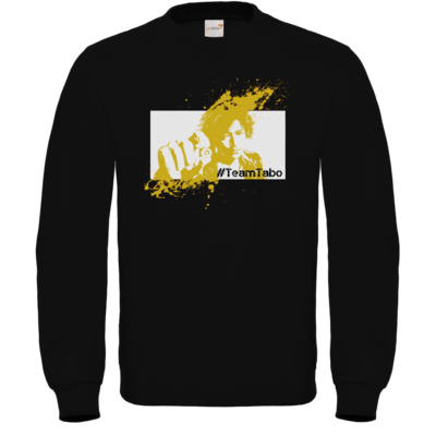 Motiv: Sweatshirt FAIR WEAR - #TeamTabo - Gelb