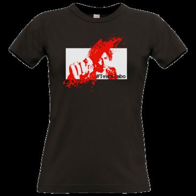 Motiv: T-Shirt Damen Premium FAIR WEAR - #TeamTabo  - Rot