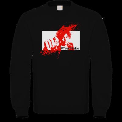 Motiv: Sweatshirt FAIR WEAR - #TeamTabo  - Rot