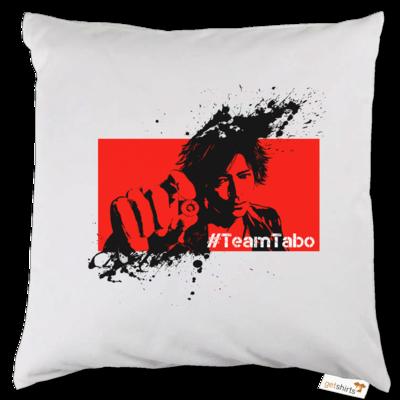 Motiv: Kissen - #TeamTabo  - Rot