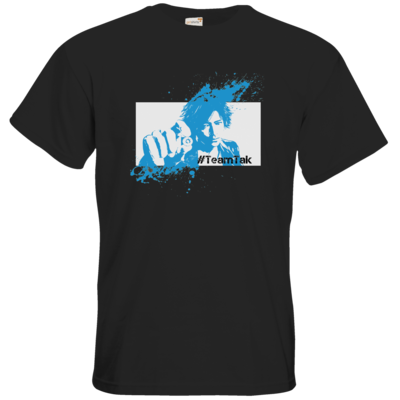 Motiv: T-Shirt Premium FAIR WEAR - #TeamTak - Blau