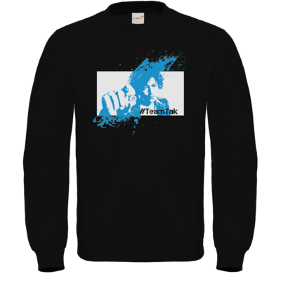 Motiv: Sweatshirt FAIR WEAR - #TeamTak - Blau