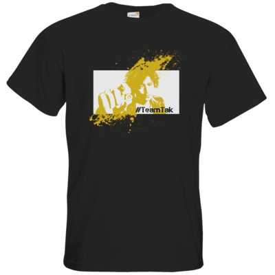 Motiv: T-Shirt Premium FAIR WEAR - #TeamTak - Gelb