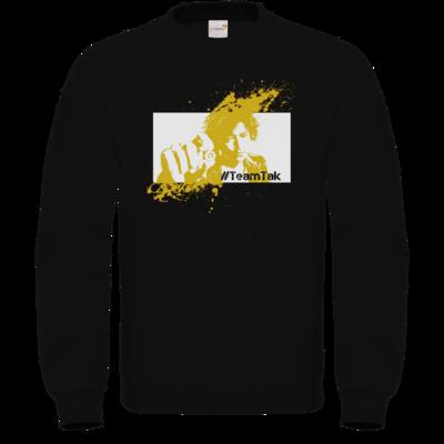 Motiv: Sweatshirt FAIR WEAR - #TeamTak - Gelb