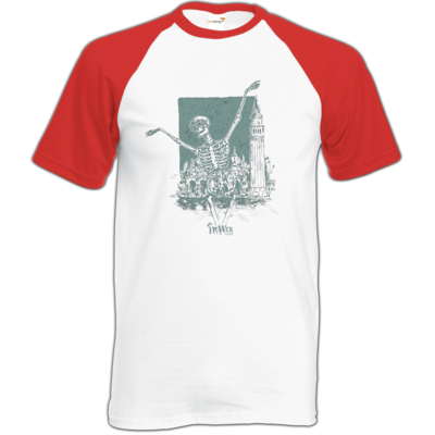 Motiv: Baseball-T FAIR WEAR - HeXXen - Totentanz