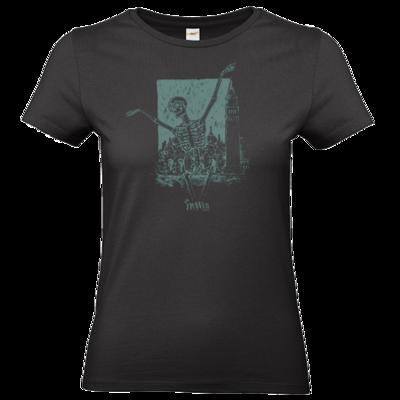 Motiv: T-Shirt Damen Premium FAIR WEAR - HeXXen - Totentanz