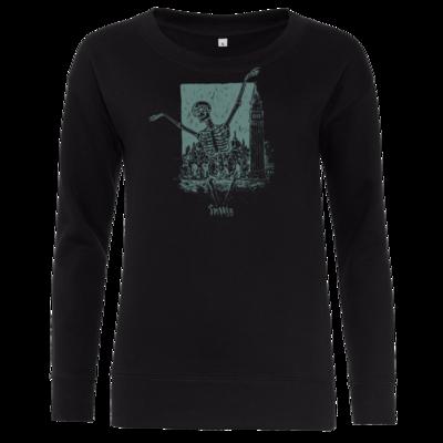 Motiv: Girlie Crew Sweatshirt - HeXXen - Totentanz