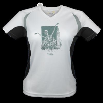 Motiv: Laufshirt Lady Running T - HeXXen - Totentanz