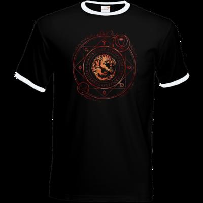 Motiv: T-Shirt Ringer - Dämonen - Pandämonium