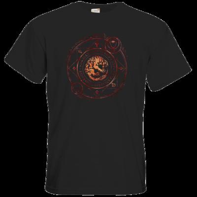 Motiv: T-Shirt Premium FAIR WEAR - Dämonen - Pandämonium