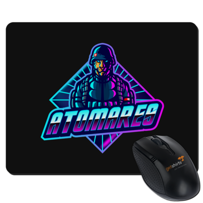 Motiv: Mousepad Textil - Atomares Bengal Soldier Logo