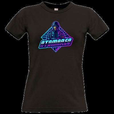 Motiv: T-Shirt Damen Premium FAIR WEAR - Atomares Bengal Soldier Logo