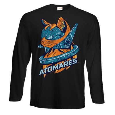 Motiv: Exact 190 Longsleeve FAIR WEAR - Retro Future Cat