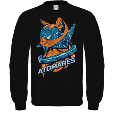 Motiv: Sweatshirt FAIR WEAR - Retro Future Cat