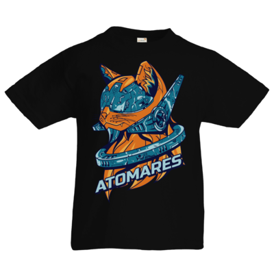 Motiv: Kids T-Shirt Premium FAIR WEAR - Retro Future Cat