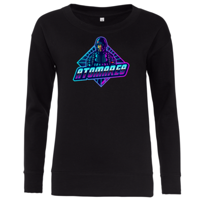 Motiv: Girlie Crew Sweatshirt - Atomares Bengal Soldier Logo