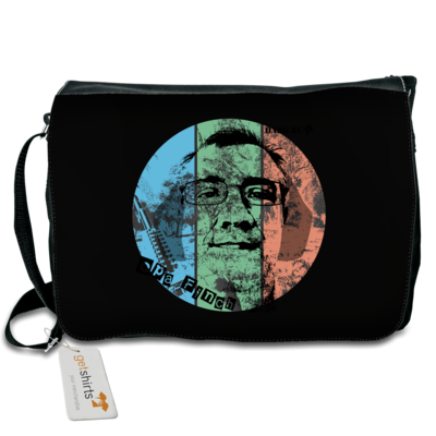 Motiv: Schultertasche - Opa_Charlidesign_3_color