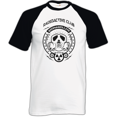 Motiv: TShirt Baseball - Radioactive Club