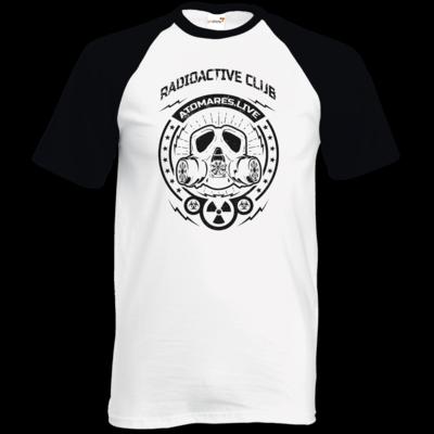 Motiv: TShirt Baseball - Radioactive Club