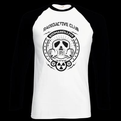 Motiv: Longsleeve Baseball T - Radioactive Club