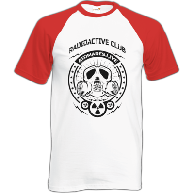 Motiv: Baseball-T FAIR WEAR - Radioactive Club