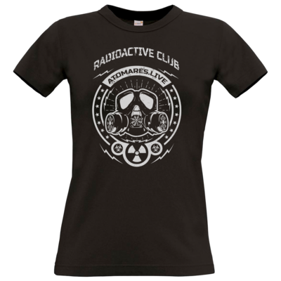 Motiv: T-Shirt Damen Premium FAIR WEAR - Radioactive Club