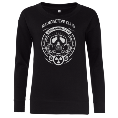 Motiv: Girlie Crew Sweatshirt - Radioactive Club