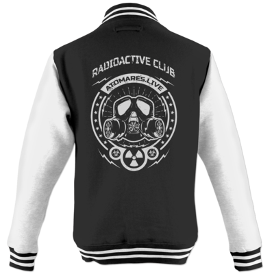 Motiv: College Jacke - Radioactive Club