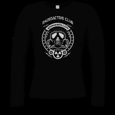 Motiv: Longsleeve Damen Organic - Radioactive Club