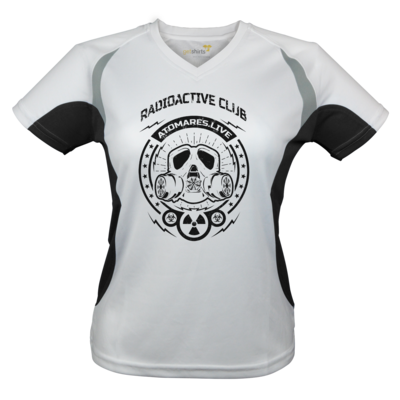 Motiv: Laufshirt Lady Running T - Radioactive Club