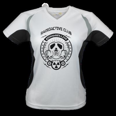 Motiv: Laufshirt Lady Running T - Radioactive Club