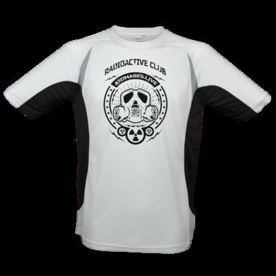 Motiv: Laufshirt Running T - Radioactive Club