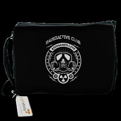 Motiv: Schultertasche - Radioactive Club