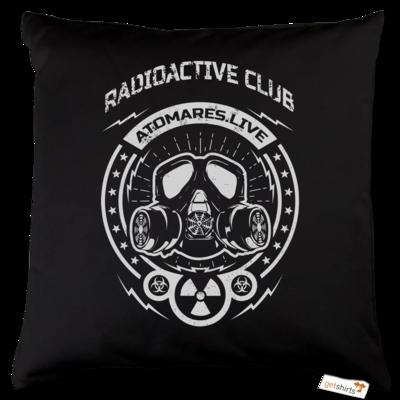 Motiv: Kissen Baumwolle - Radioactive Club