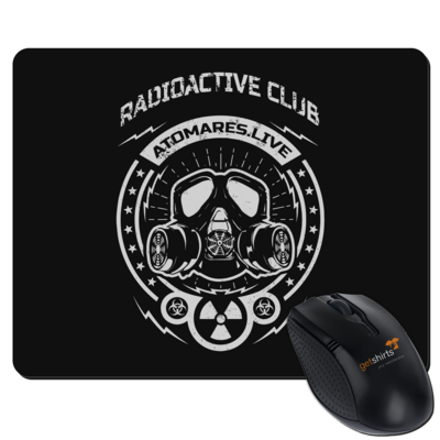 Motiv: Mousepad Textil - Radioactive Club