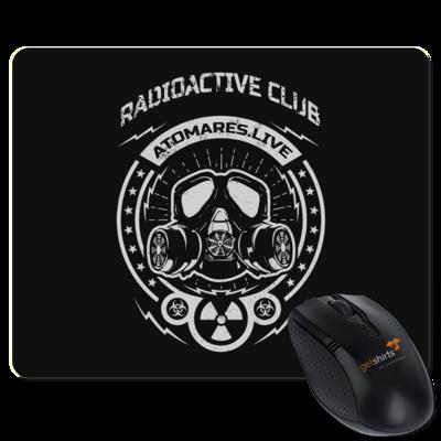 Motiv: Mousepad Textil - Radioactive Club
