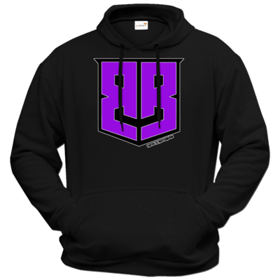 Motiv: Hoodie Premium FAIR WEAR - Purple Logo