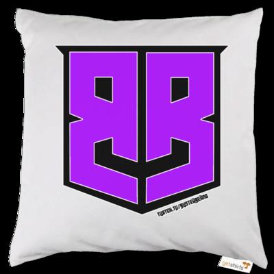 Motiv: Kissen - Purple Logo