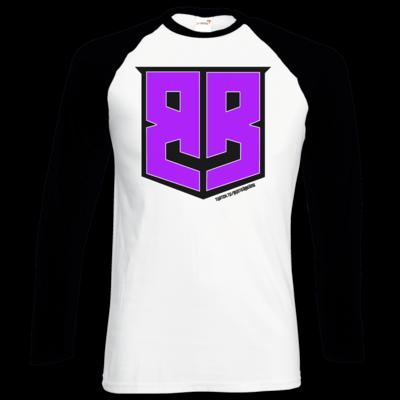 Motiv: Longsleeve Baseball T - Purple Logo
